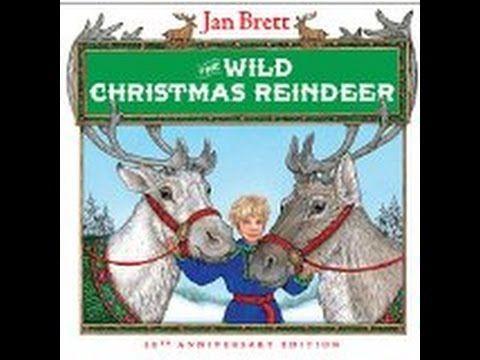 The Wild Christmas Reindeer - read by Arwen Sharp - YouTube