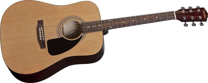FenderFA-100 Fender Acoustic Guitar with Gig BagNatural