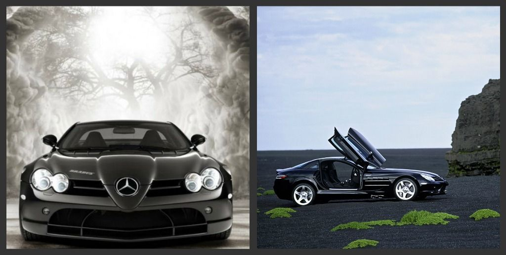Mercedes-Benz McLaren SLR. check out the doors on this. reminds me of : slr doors - pezcame.com