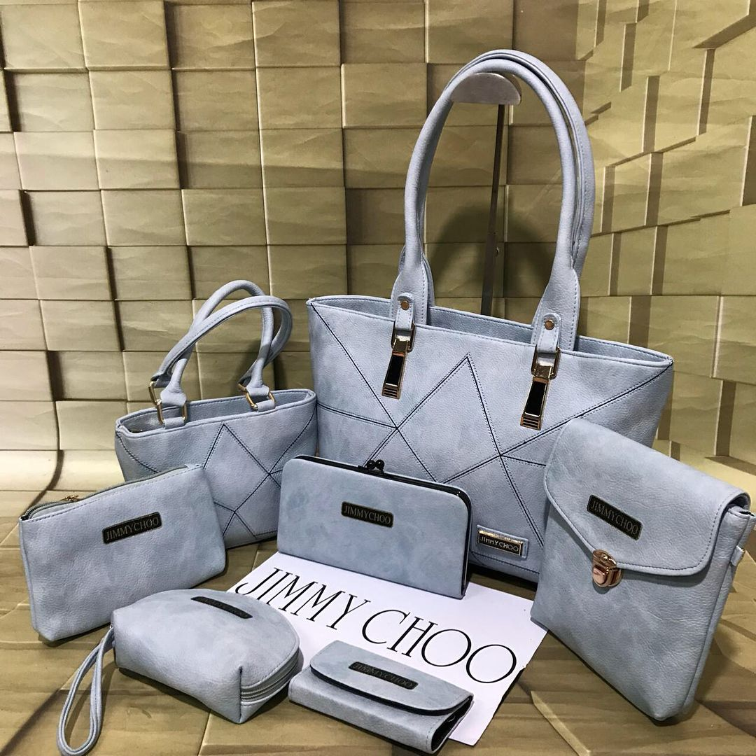 Jimmy choo bags and purses for her pcs combo amazing quality