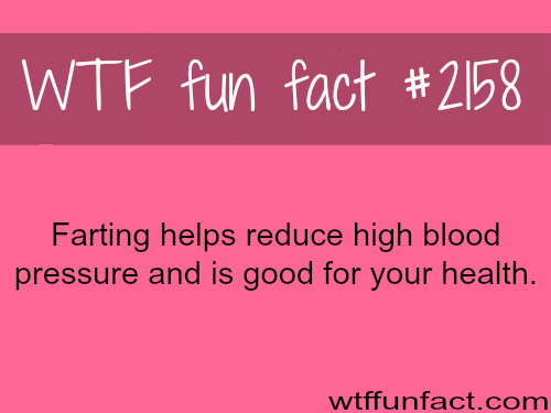 Health facts about Farting - WTF fun facts | Fun Facts | Fun