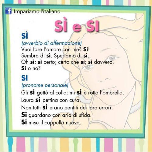 In lingua italiana la differenza di significato fra la parola s con l 39 accento sulla i e - Assicurazione sulla casa si puo detrarre ...