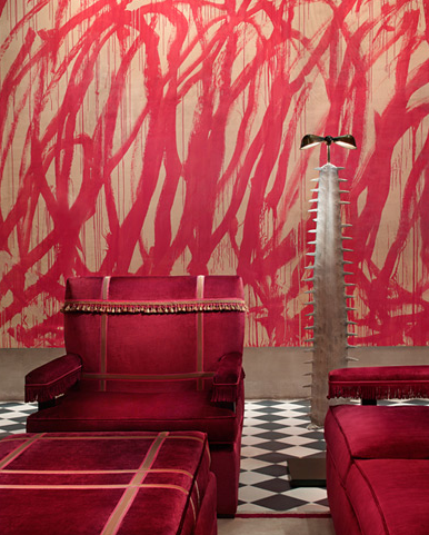 JULIAN SCHNABEL'S GRAMERCY PARK HOTEL- the ultimate interior designers dream! I have to go here one day