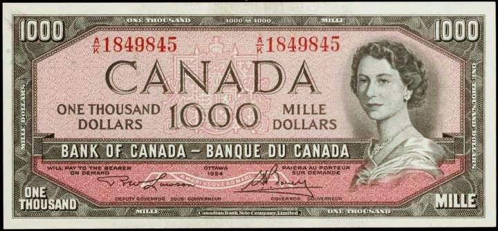 Pin On Canadian Banknotes