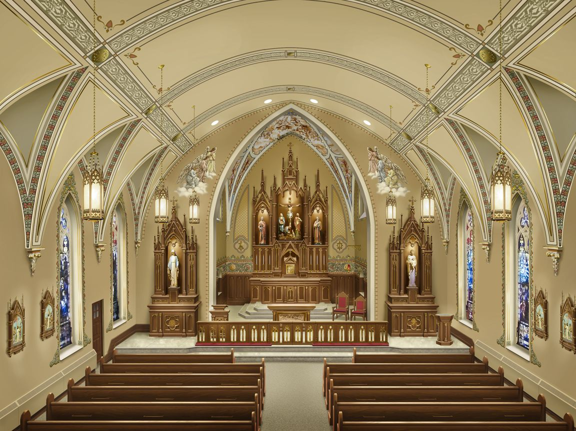 Pictures Inside Catholic Church