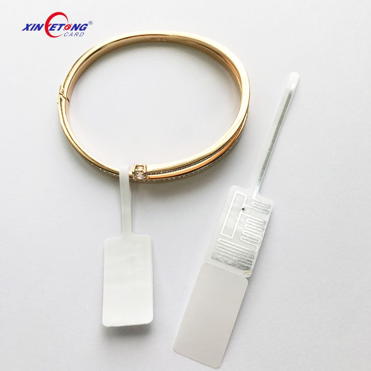Tamper Proof UHF/HF RFID Ring Jewelry Tag For Tracking