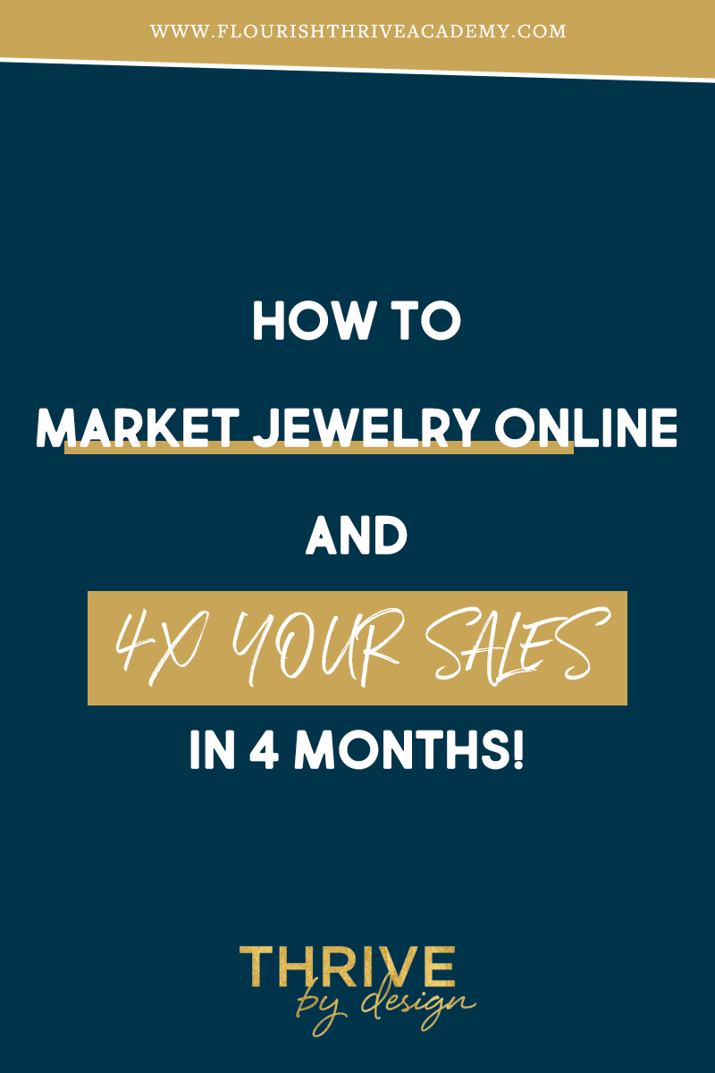 28++ How to market jewelry online information