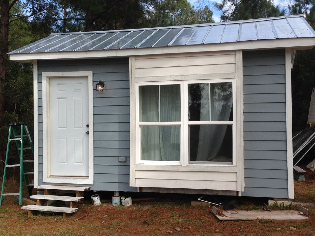 Almost finished tiny house tiny house for sale in moncks