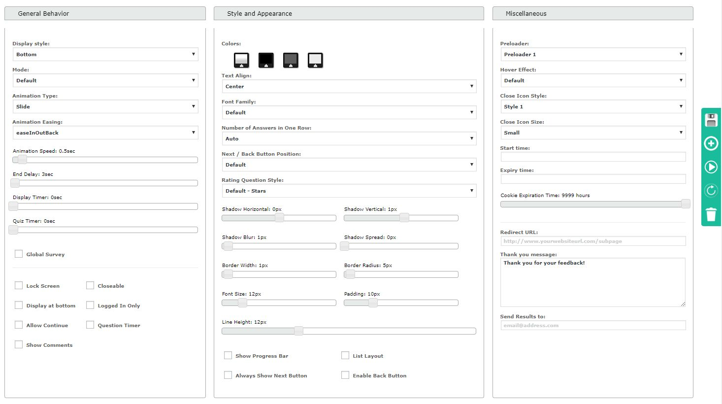 Modal Survey Wordpress Poll Survey Quiz Plugin With Images