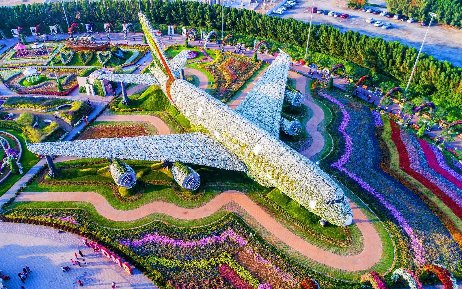 Dubai Miracle Garden Jardim do mundo, Jardim de flores
