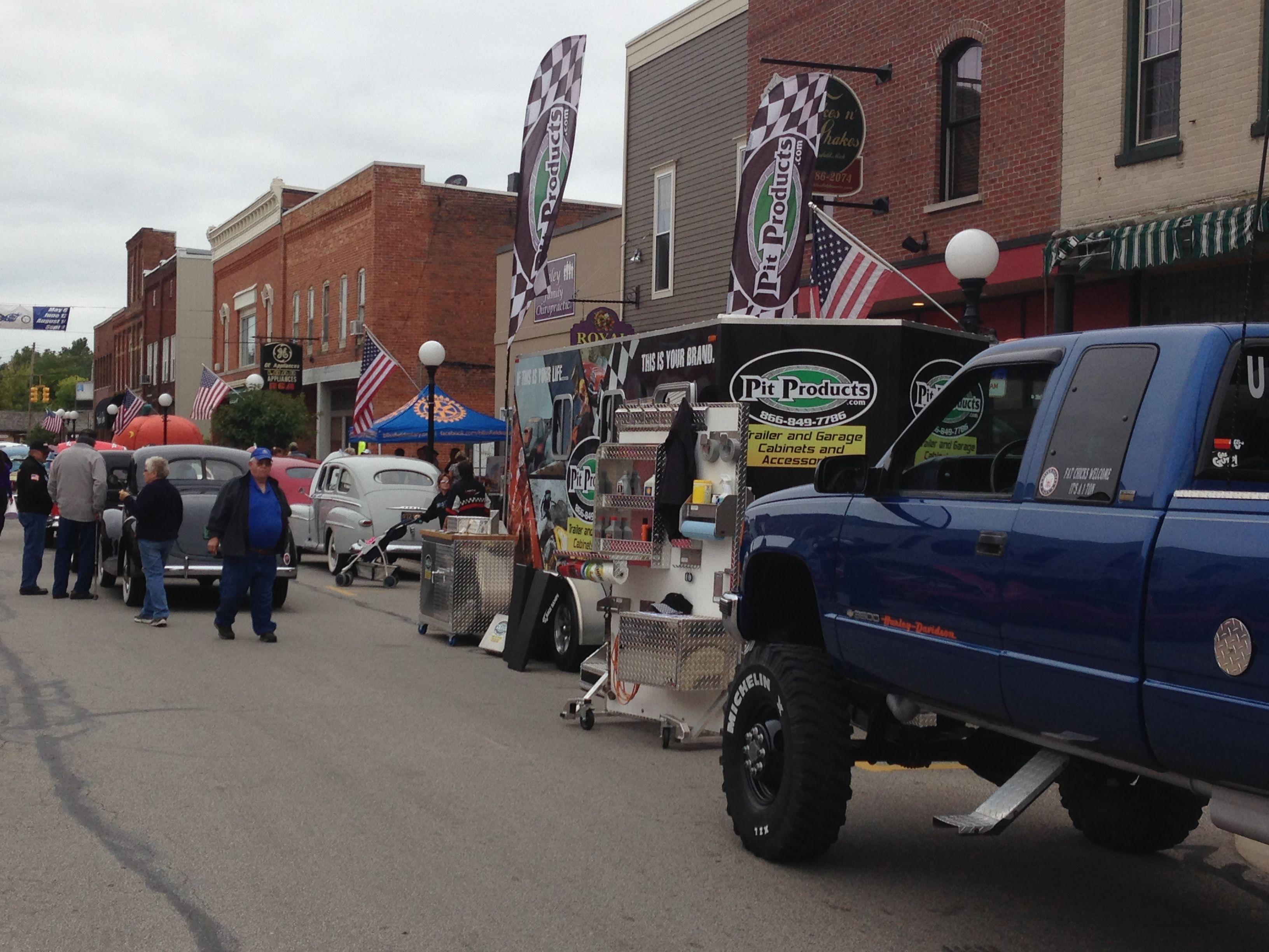 Iott Insurance Car Bike Show In Blissfield Michigan