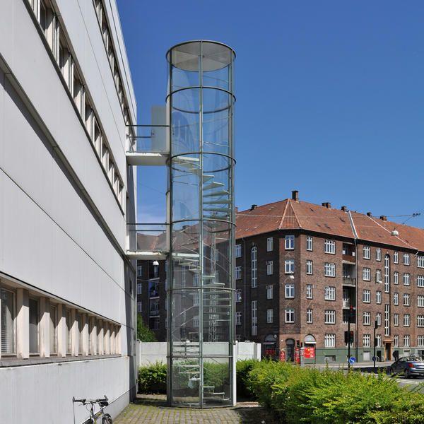 Best Arne Jacobsen Fire Escape Stairs Novo Copenhagen 1954 640 x 480