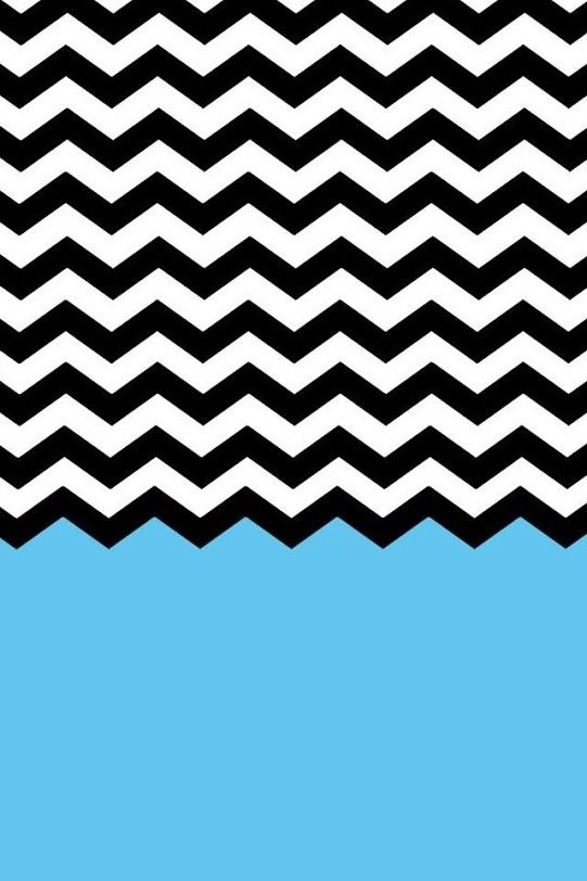 blue black white chevron stripes