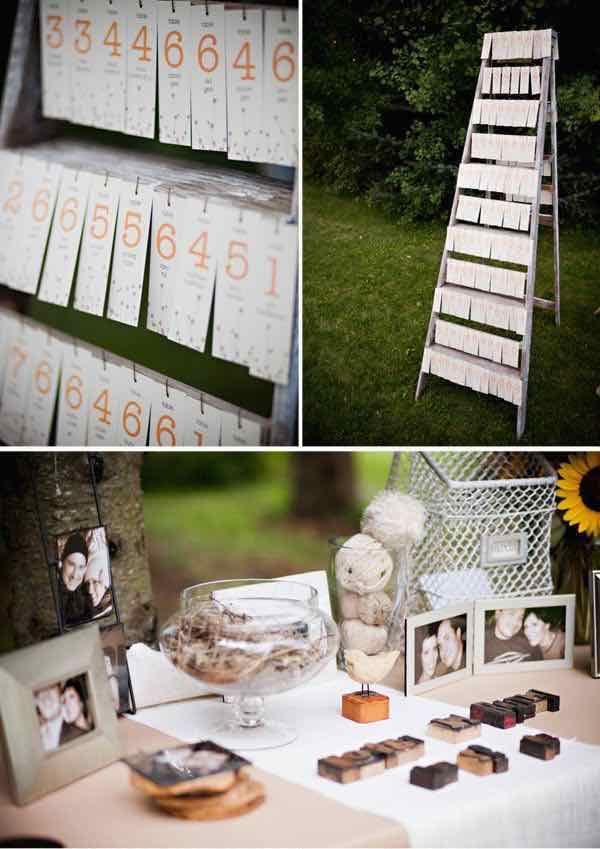 Libros de firmas para bodas 19 ideas originales bodas - Mesas de libro para salon ...