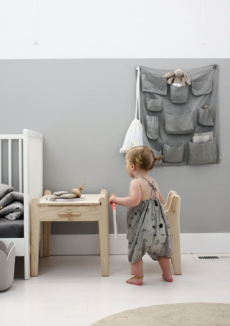 Peter chair and table from carl hansen søn montessori room kids inspire