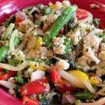 Cheesy Veggie Quinoa Bowl