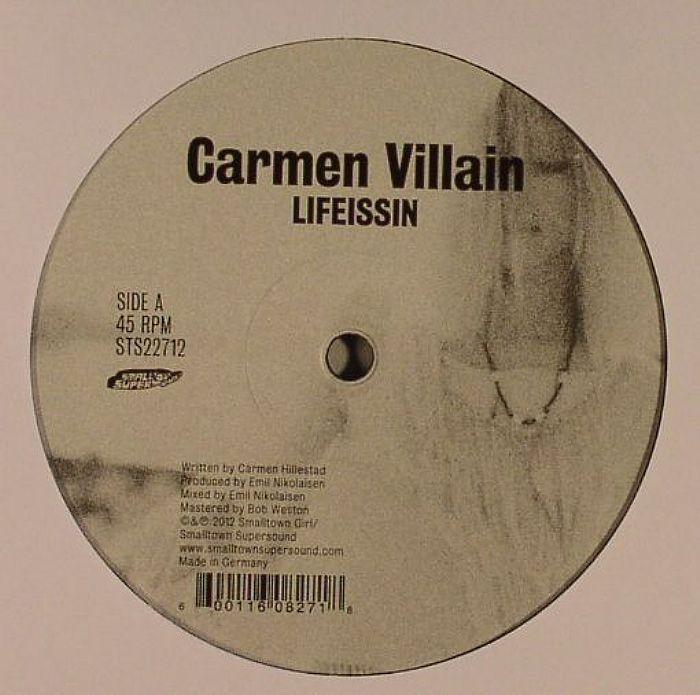 Carmen Villain – Lifeissin (Smalltown supersound)