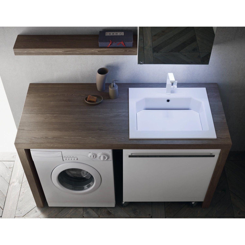 Mobile Lavello E Lavatrice bagno arredo bagno portalavatrice n31 atlantic arredaclick