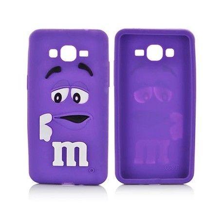 Coque M&M'S Violet Galaxy grand prime | Fundas para celular ...