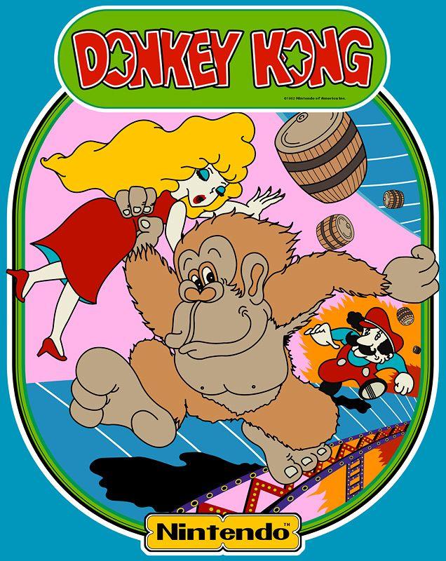 Classic Donkey Kong Retro Video Games Donkey Kong Vintage Video Games