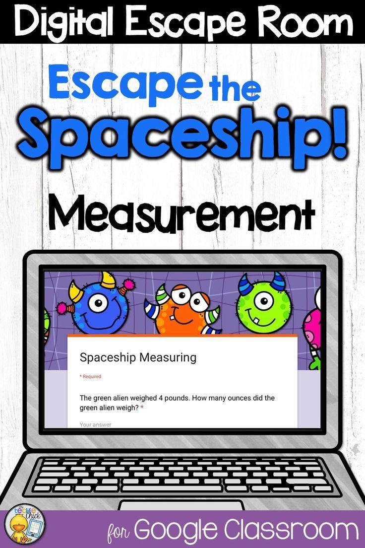 Digital Escape Room Escape The Spaceship Math Breakout Activity Math Lesson Plans Math Distance Learning [ 1104 x 736 Pixel ]