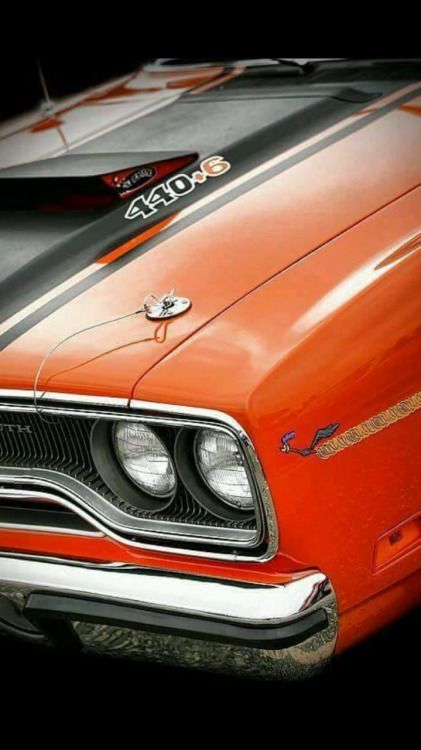 """1970 Plymouth Roadrunner 440 6 Pack """"Equipped"""""""