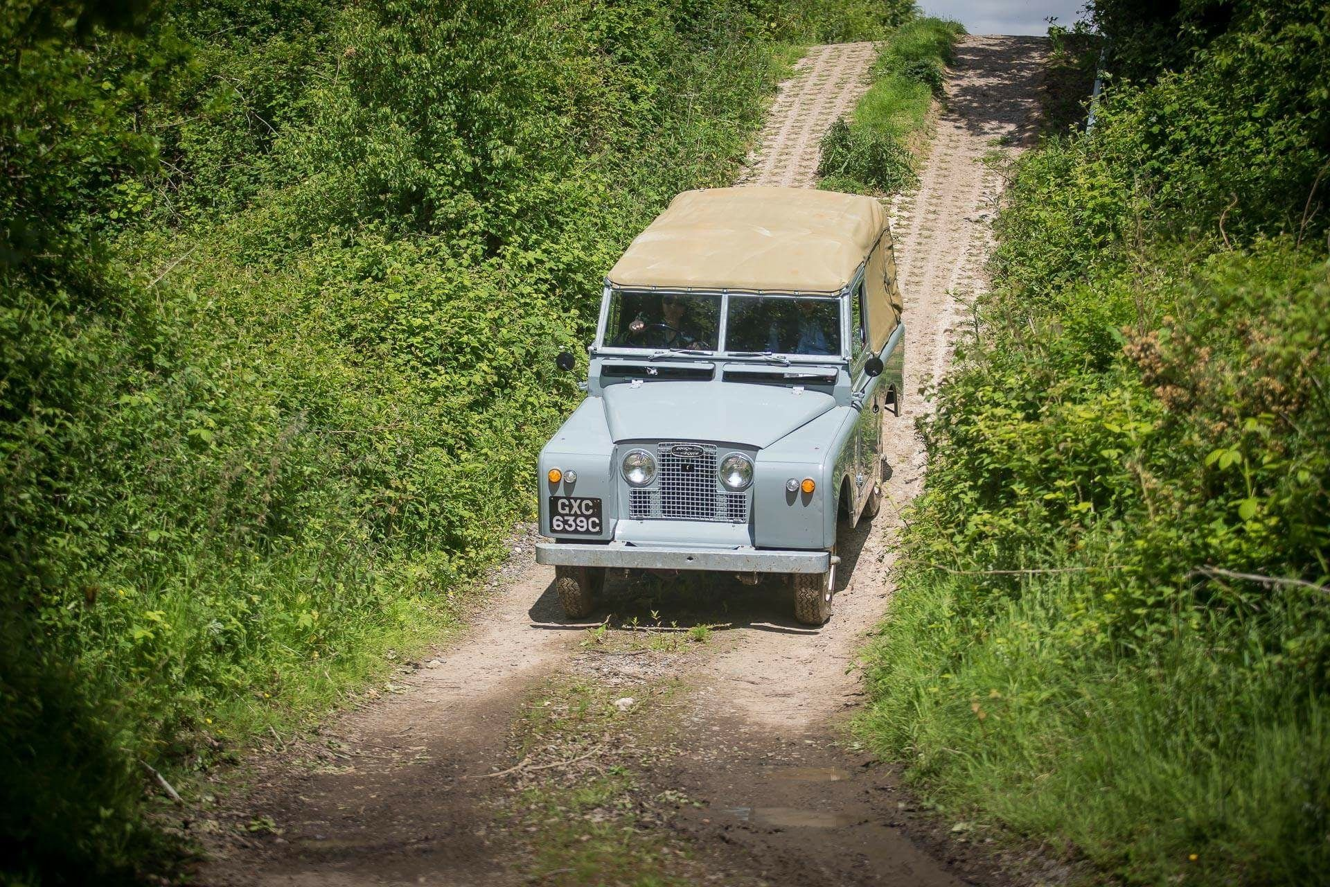 Land Rover series 2 test course
