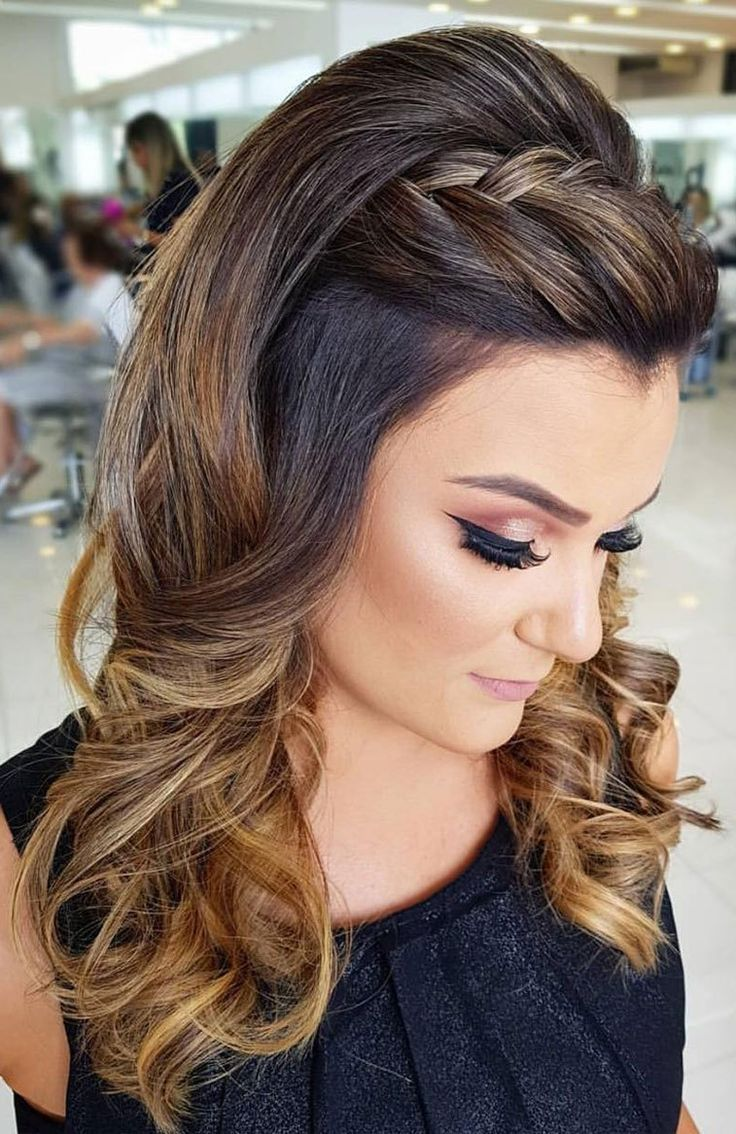 30 Beautiful Prom Hairstyles That'll Steal the Night - Best prom hairstyle ideas , braided updo ...