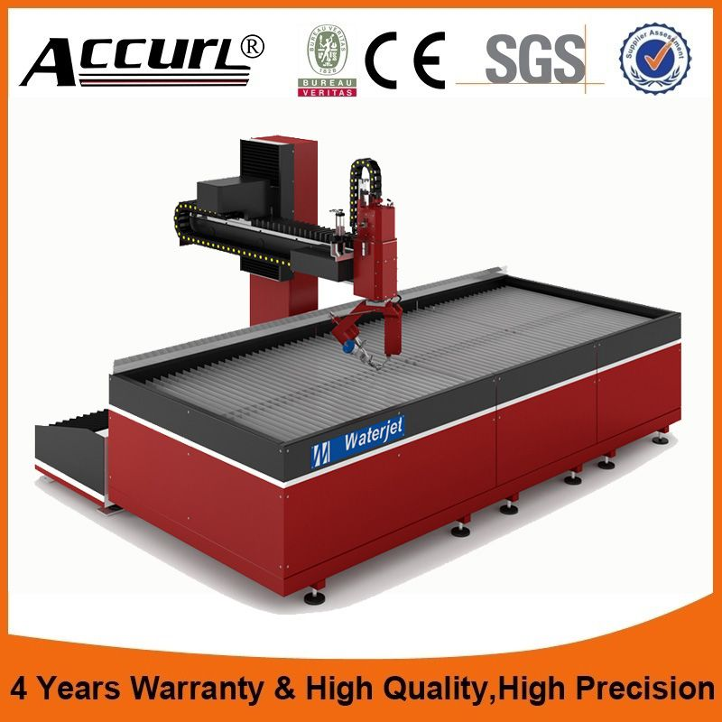 water jet cutting machine sale with manufacture price,water