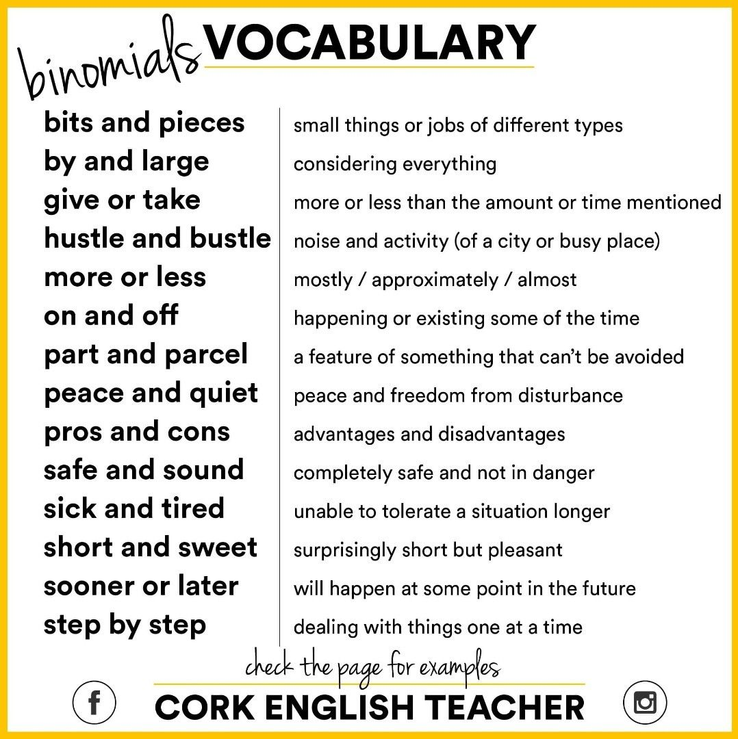 Pin By On Vocabulary With Images
