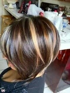 Her hair that colot she keep iton hair styles pinterest hair her hair that colot she keep iton chunky highlightsshort dark pmusecretfo Image collections