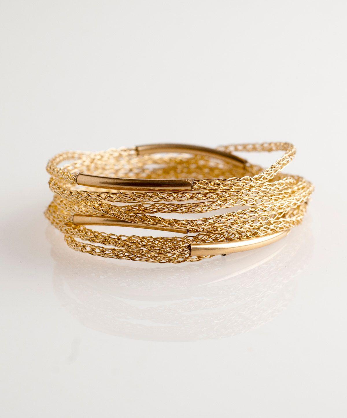 Boho bracelet gold wrap bracelet women wrap bracelet layering