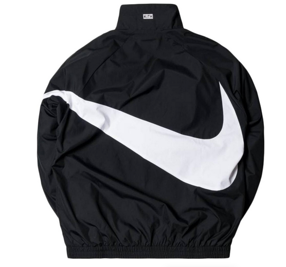 43a38085 Kith x Nike Big Swoosh Quarter Zip Jacket Be the example, carry the symbol and  JUST DO IT! #kith #kithnyc #ronniefieg #nike #justdoit #nikeplus #bigswoosh  ...