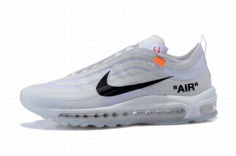 Donne OFF WHITE Nike Air Max 97 Cremoso Bianca Nero