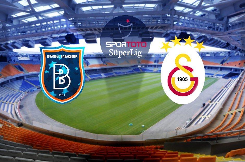 BaşakşehirGalatasaray maçı canlı izle Galatasaray