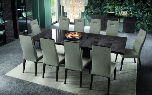 Alf Italia Heritage Dining Table Italian Made Furniture Contemporary Dining Room Sets Contemporary Dining Room Furniture Modern Dining Room