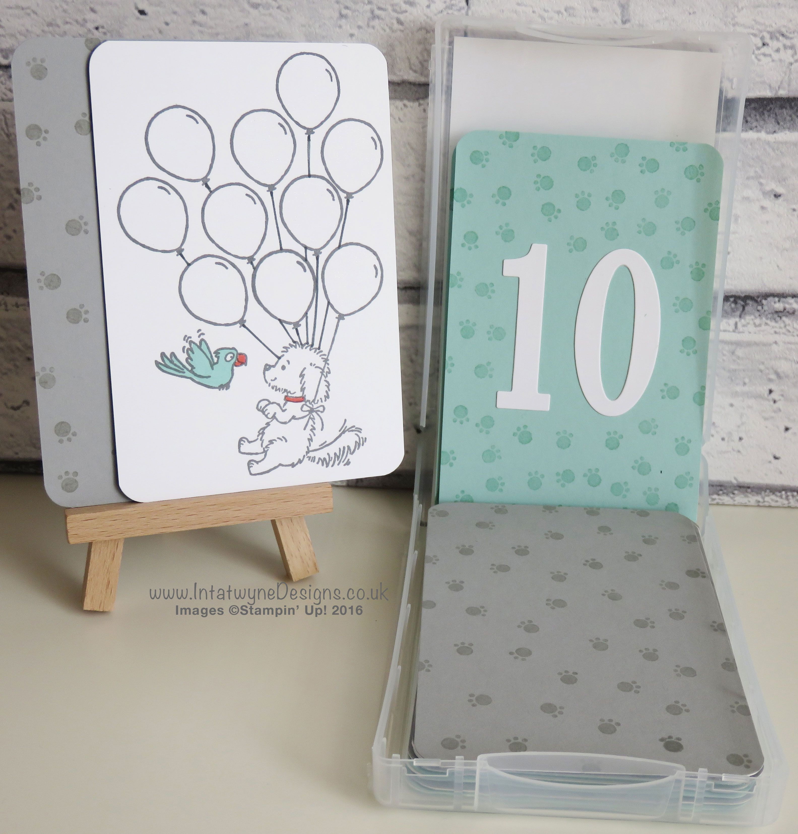 my creation for the Pootlers Blog Hop - using Bella and friends, number of years bundle and the foxy friends stamps by Stampin' Up! All available from my 24/7 online shop. - http://www2.stampinup.com/ECWeb/default.aspx?dbwsdemoid=5017521