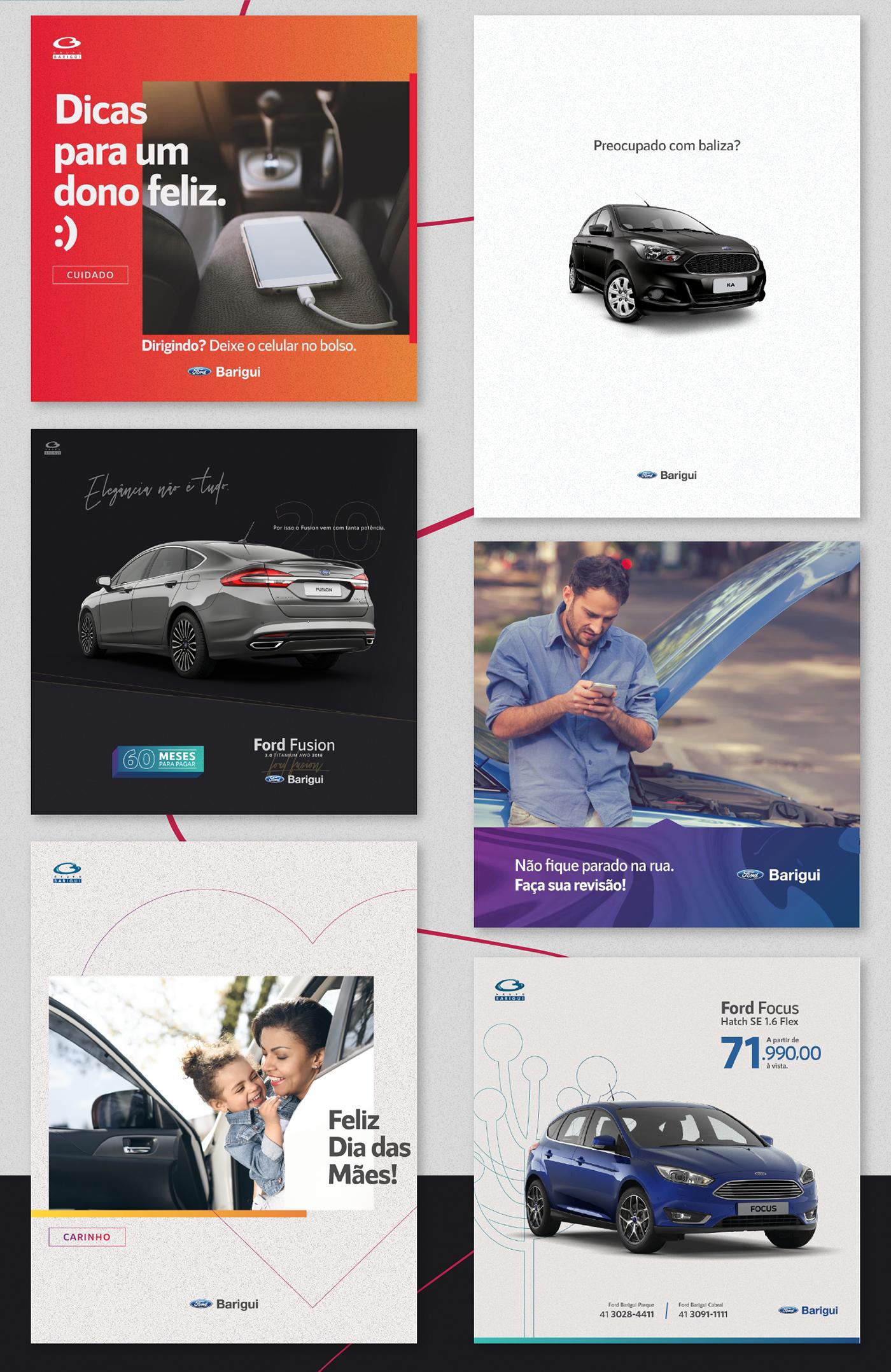 Social Media 04 Ford Barigui On Behance Social Media Design
