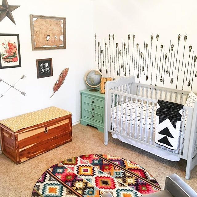 What if I fall? Oh, but my darling, what if you FLY? This Modern Neverland-inspired nursery is just too good!