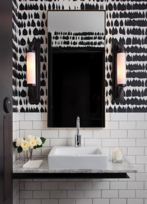 Black And White Abstract Bathroom Wallpaper Bathroom Wallpaper Black And White Bathroom Wallpaper Modern Bathroom Wallpaper