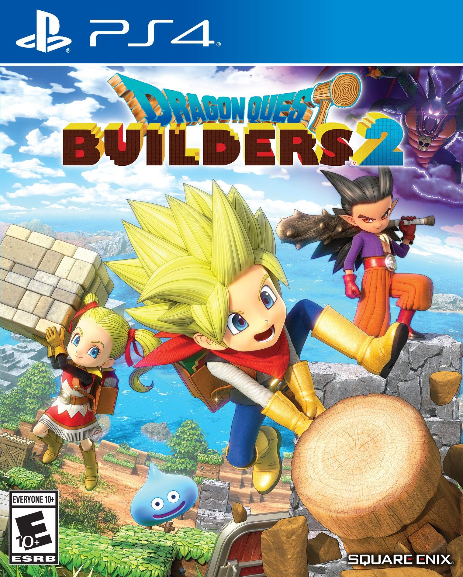 Dragon Quest Builders 2 Dragon quest, Video games ps4