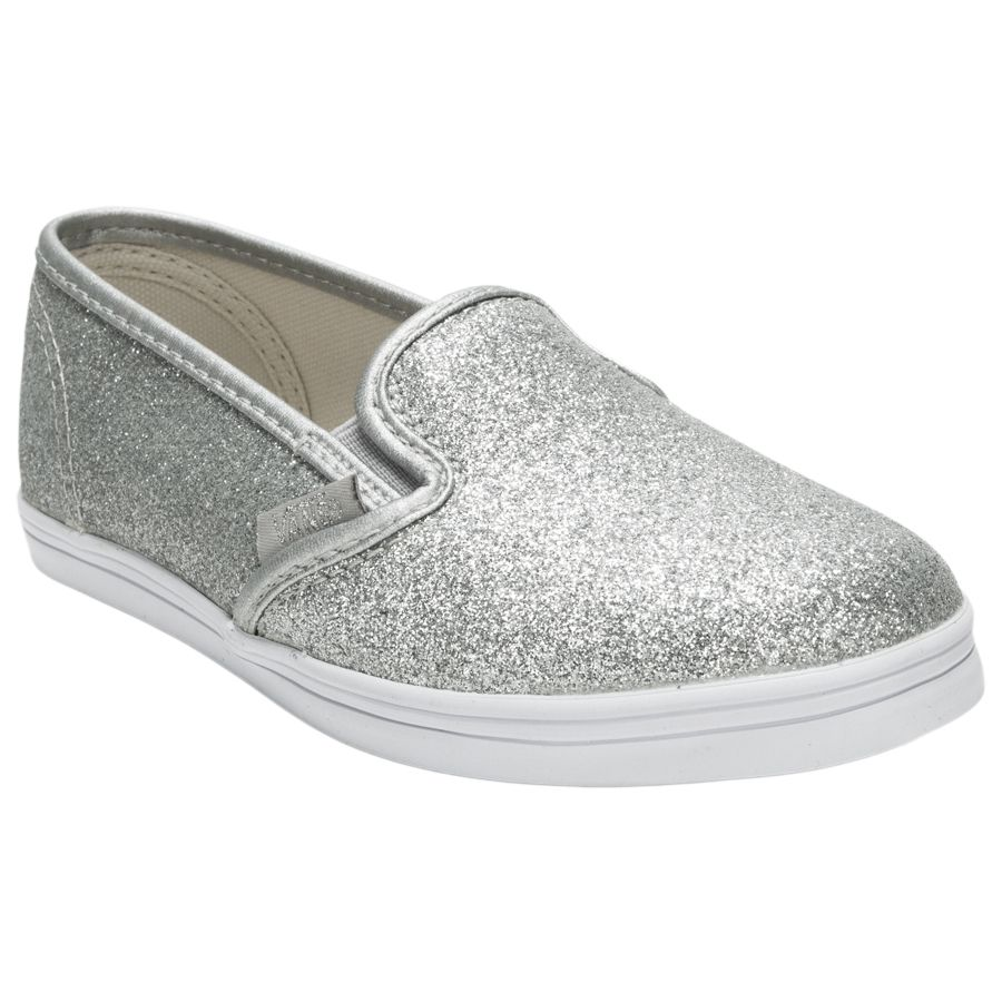 vans damen slip on glitzer