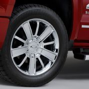 2014 Chevrolet Silverado High Country Wheel