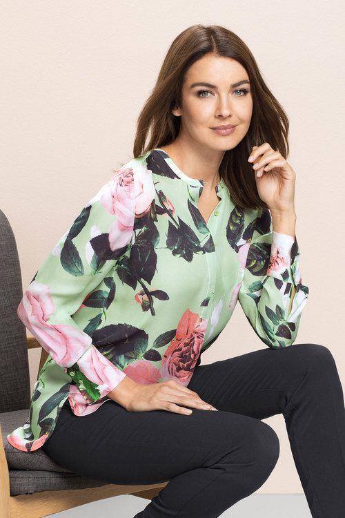 347e2e769e7dc5 Grace Hill Silk Shirt