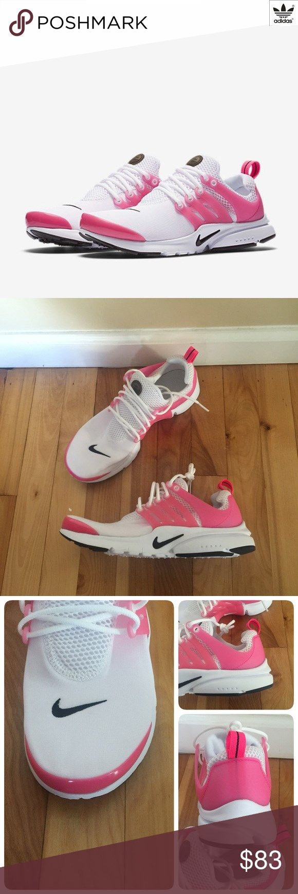 6048114a1daf New NIKE Presto GS ~ wht blk pk ~ 7Y 9W brand new no lid size 7Y (fits  womens 8.5-9) white black hyper pink comes from smoke free home Nike Shoes  Sneakers