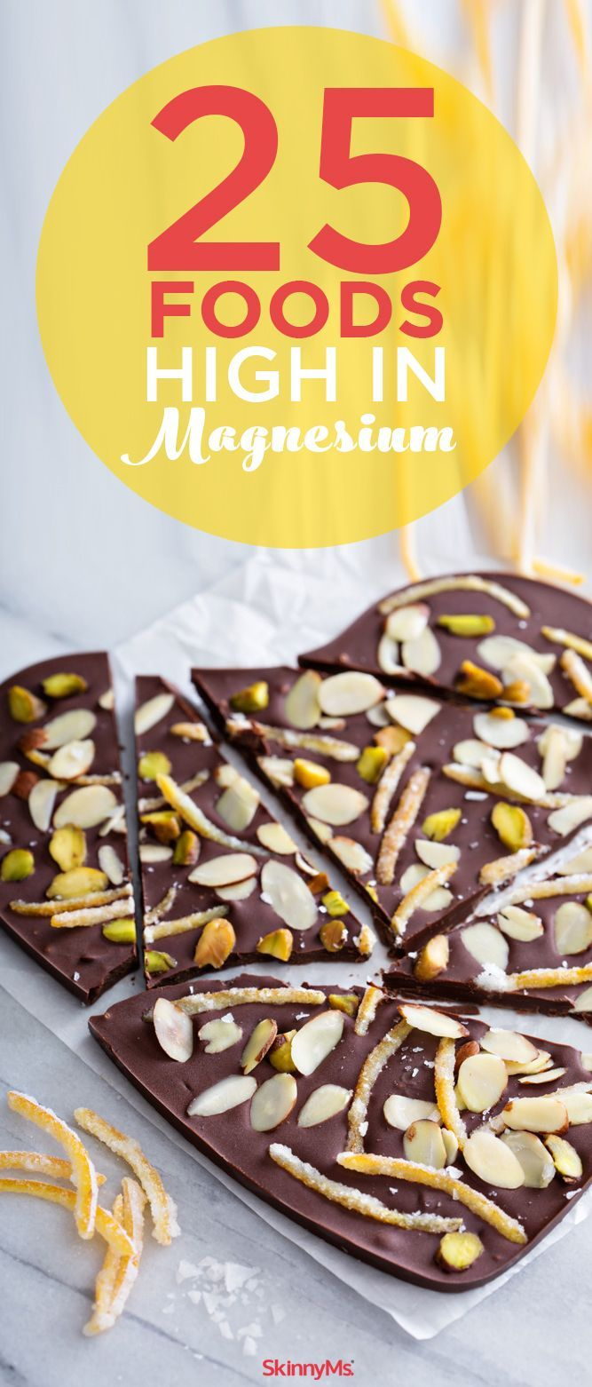 25 Foods High in Magnesium, Plus Recipes