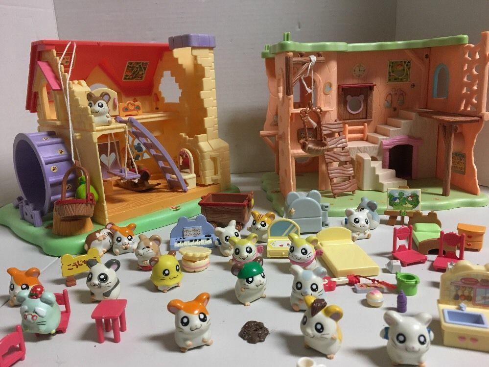 Epoch toys hams house two play house sets hamtaro ham ham