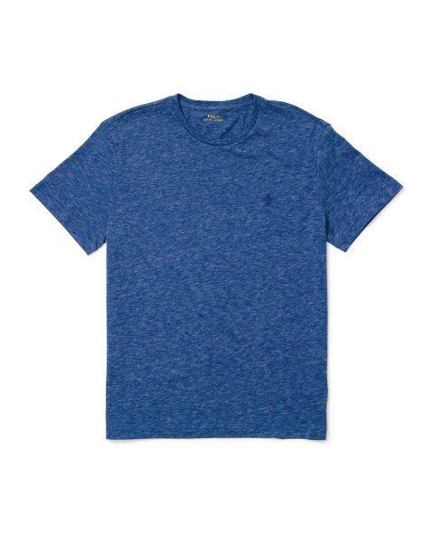 Custom-Fit Cotton T-Shirt - Polo Ralph Lauren Tees - RalphLauren.com