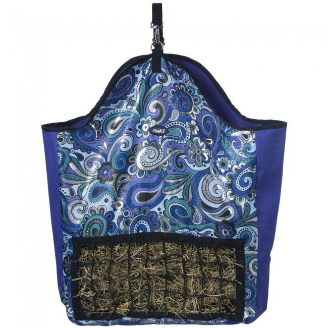 19246782d6 Tough-1 Slow Feed Hay Pouch in Paisley Shimmer Print | Paisley ...