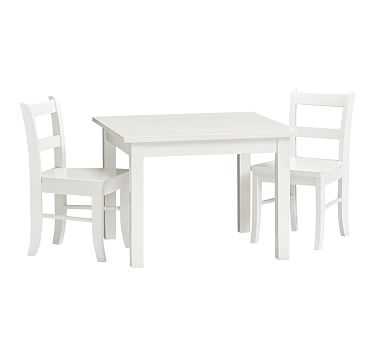 Terrific My First Table And Chair Set S 2 Simply White Furniture Spiritservingveterans Wood Chair Design Ideas Spiritservingveteransorg